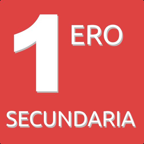 1ERO DE SECUNDARIA