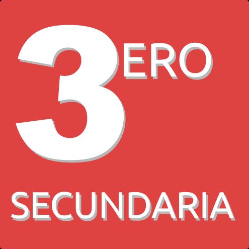 3ERO DE SECUNDARIA