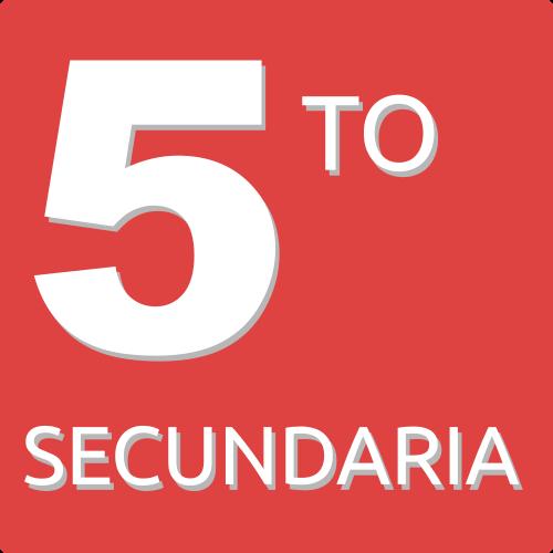 5TO DE SECUNDARIA